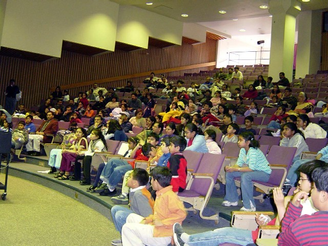 North South Foundation Pilots Math Bee In 2004