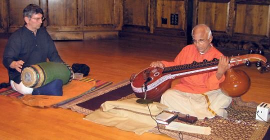 Veena Vidwan Karaikudi S. Subramanian Performs At Smith College