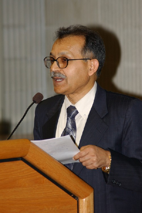 India Foreign Ministry Secretary C. M. Bhandari Addresses UMD Indic Studies Seminar