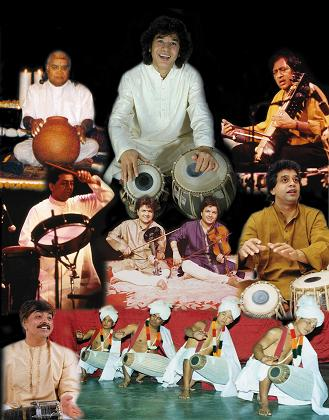 World Music Presents Zakir Hussain And Masters Of Percussion
