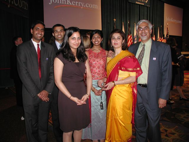 Leading Indian Americans From NE Attend Kerry Fundraiser In Boston