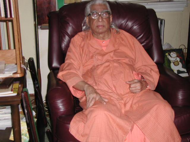 Swami Saravgatananda - Inspiring New Englanders Since 1956