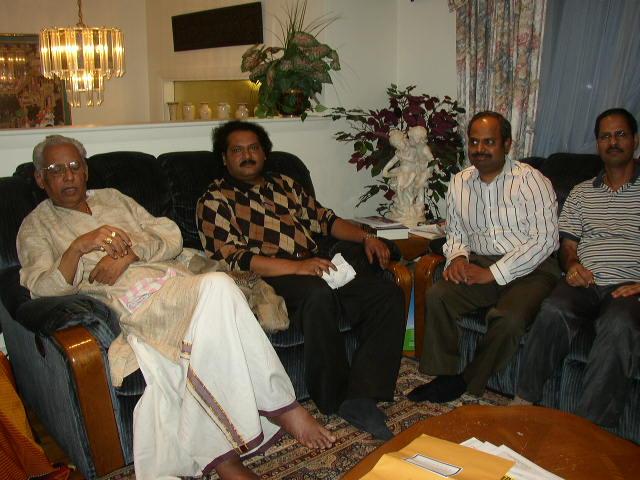 Maestro Vempati Chinna Satyam Visits New England