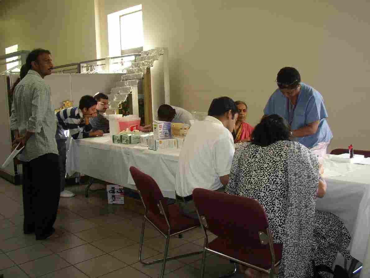Ashland Temple Hosts Diabetes Survey Among  Indian Americans