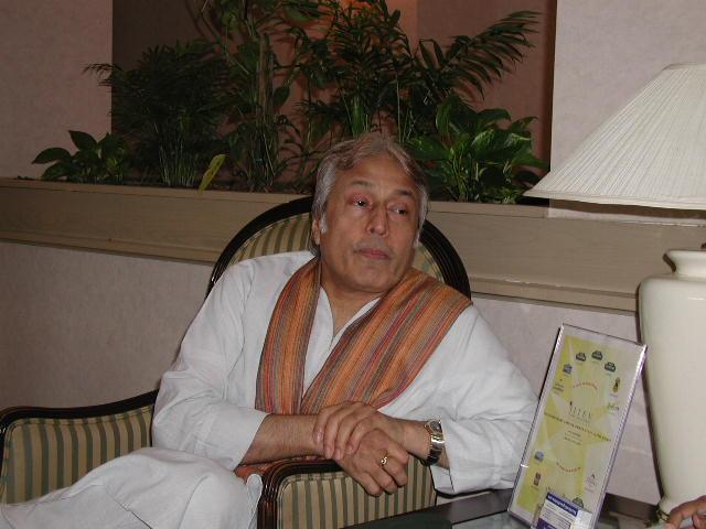 Sarod Maestro Amjad Ali Khan Visits Boston
