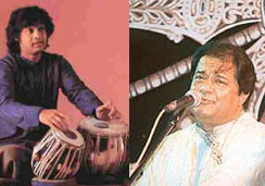 Maestros In Concert - Zakir Hussein And Anup Jalota Wow Boston
