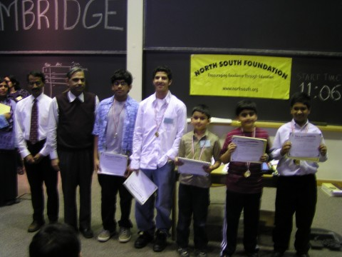 NSF Hosts 5th MA Regional Educational Contests