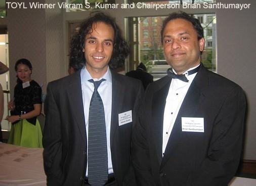Vikram Sheel Kumar Among The Winners Of The Ten Outstanding Young Leader Award