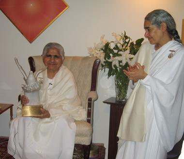 Dadi Janki Is Awarded The Courage Of Conscience Award