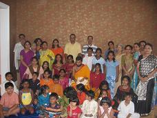 JET New England Conducts Sri Rama Pooja