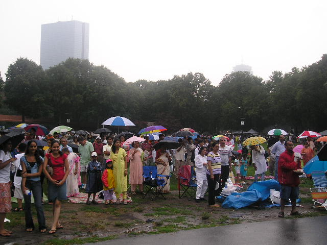 Rain Interrupts IAGB Independence Day Celebrations