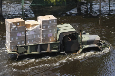 Hurricane Katrina - Indian Organizations Pitch In Relief Efforts