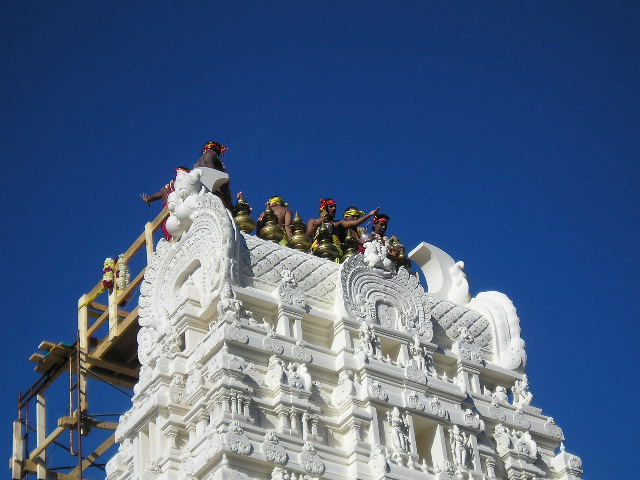 Mahakumbhabhishekam Attracts Over 3000