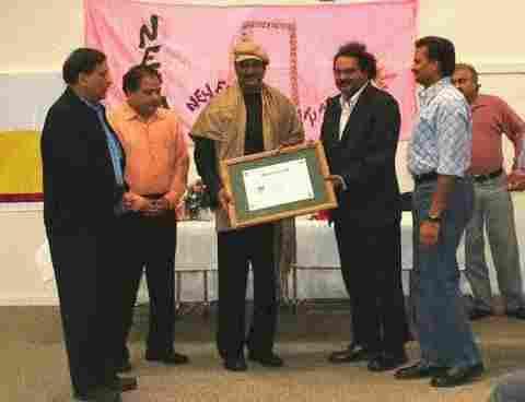 NETA Felicitates Dr Mohan Babu, Actor