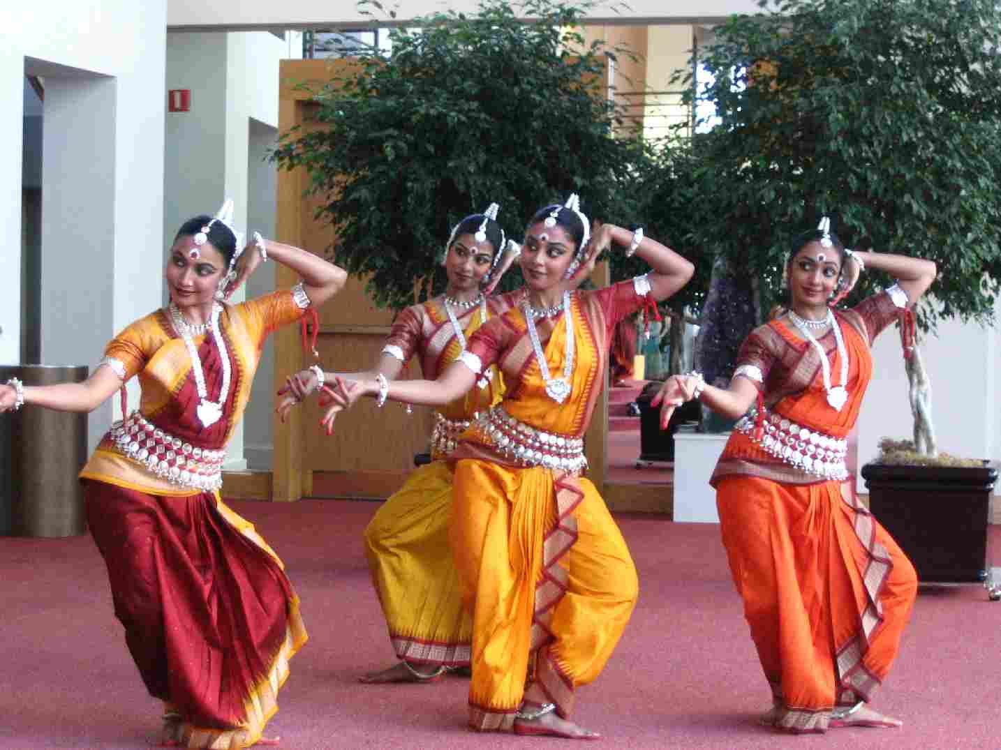 Divine Dance Nrityagram's Sacred Space Odissi Performance