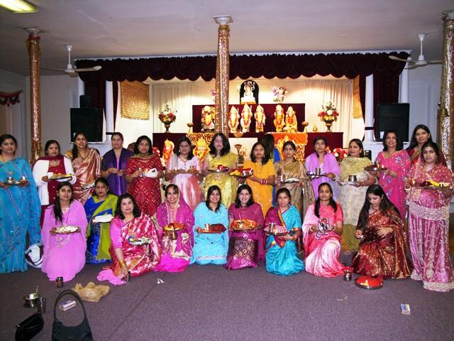 Karwa Chauth Utsav In Satsang Center