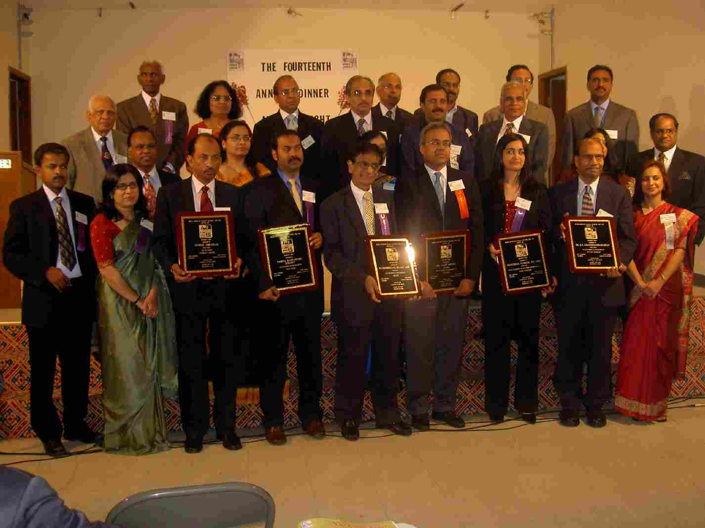 Kerala Center Honors Seven At Banquet Gala