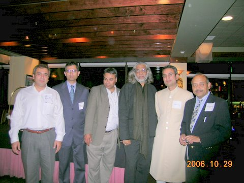 Muzaffar Ali Visits Boston