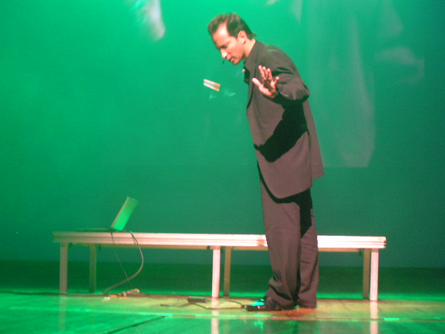 Magic Show By Simon Winthrop Defies Gravity