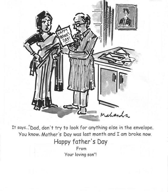Cartoon: Father's Day
