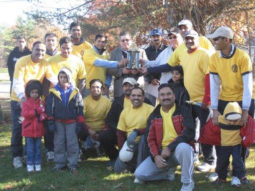 Nashua Nukes Wins 2007 New England Cricket League Tournament