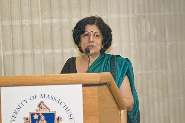 The Center For Indic Studies At UMass Hosts Ambassador Neelam Deo