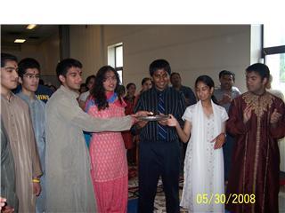 Vedic Graduation Ceremony 2008 At Sri Lakshmi Temple