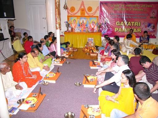 Gayatri Jayanti 2008: A Joyous Spiritual Celebration In Satsang Center