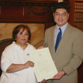 Presidential Proclamation Presented To Massachusetts Asian American Commission