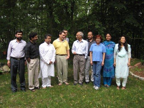 Prof. M. Saleemuddin Of AMU Visits Boston
