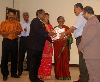 Kerala Center Honors Dr. Thomas Abraham And Varghese Kalathil