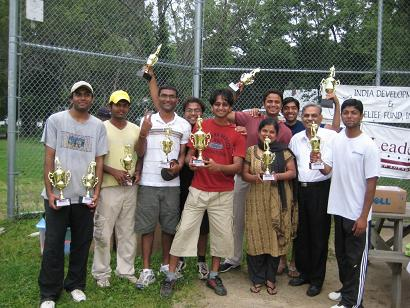 """Mavericks"" Beat Top-seeded Teams To Win IDRF Cricket Championship"