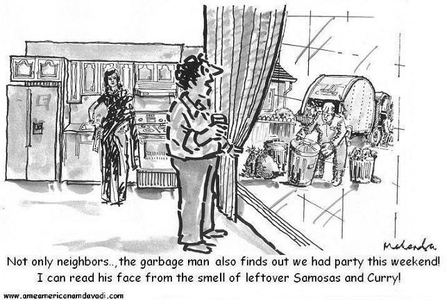 Cartoon: Garbage Man