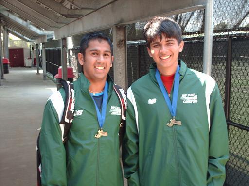 Nisarg Chhaya And Ajeya Shekar Win The 2008 Bay State Tennis Doubles Championship