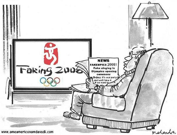 Cartoon - Fakempics 2008