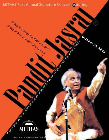 MITHAS Gives Away Free Pandit Jasraj Concert Tickets