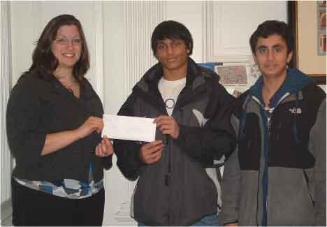 Fairfield Math Club Students Excel In Math Contests And  Raise Funds For Operation Hope