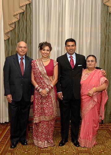 Guests Donate Over $5,000 At A Wedding For Ekal Vidyalaya