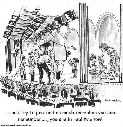 Cartoon: Reality Show.