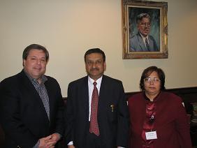 Indian Consul General Prabhu Dayal Visit's Mayor Of Quincy Thomas P. Koch