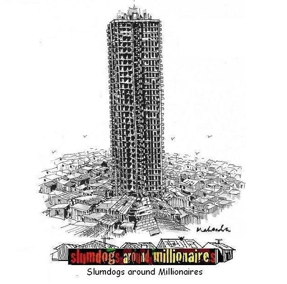 Cartoon: Slumdogs Around Millionaires