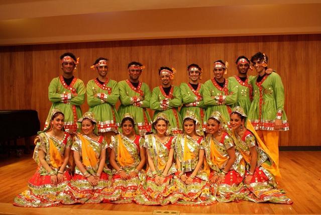 BU India Club Hosts Garba Raas Dance Competition