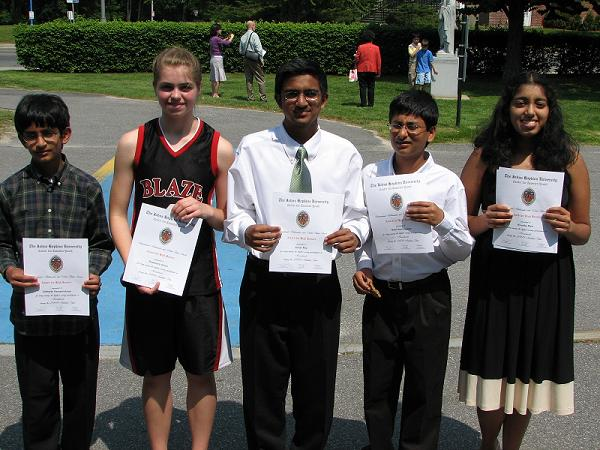 Top Students From Massachusetts Are Recognized For Academic Excellence