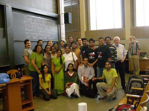 Lokvani Talks To MIT-Harvard-BU Grad Students