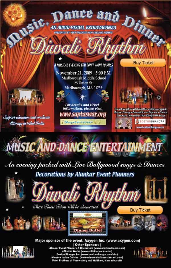Diwali Rhythm - Music And Dance Extravaganza