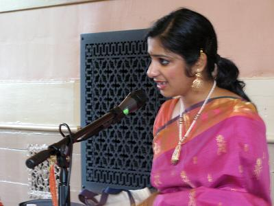 Carnatic Music Arangetram - Meghna Chandra