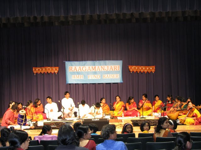 Raagamanjari 2009 – A Carnatic Musical Ensemble