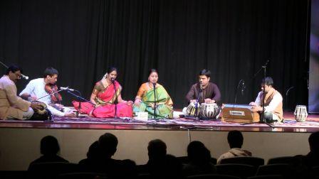 Chinmaya Mission Carnatic - Hindustani  Music Concert Draws  Appreciative Audience