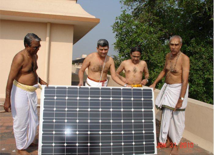 Solar Energy At Kanchi Kamakoti Peetam
