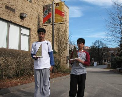 Gowrawaram Brothers Achieve Top Ranks In The Massachusetts State MATHCOUNTS Competition